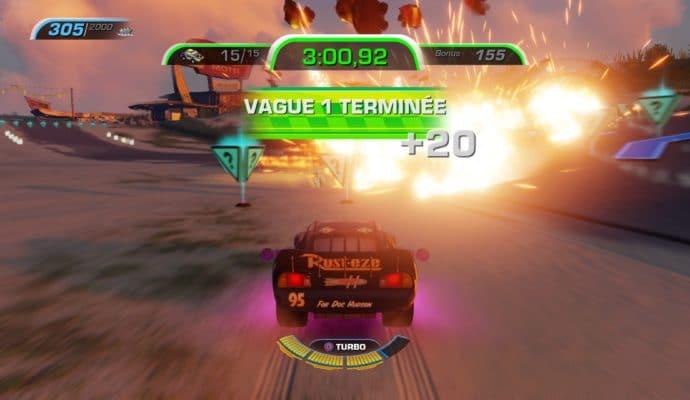 Test Cars 3 : Course vers la victoire - explosion