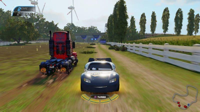 Test Cars 3 : Course vers la victoire - Marche arrière campagne