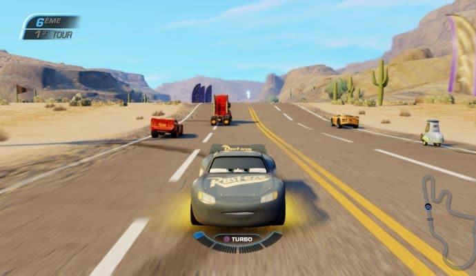 Test Cars 3 : Course vers la victoire - marche arrière sur la route