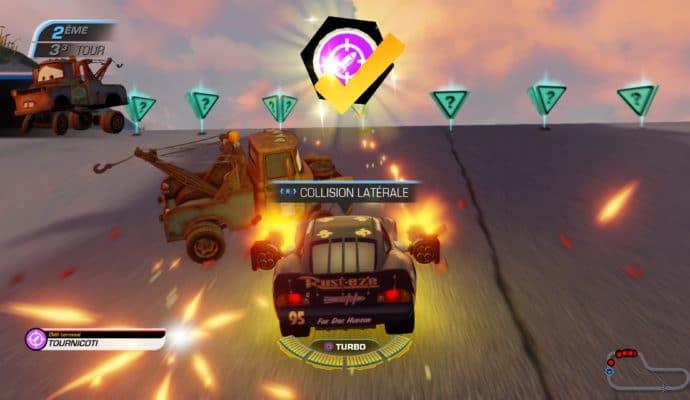 Test Cars 3 : Course vers la victoire - Collision