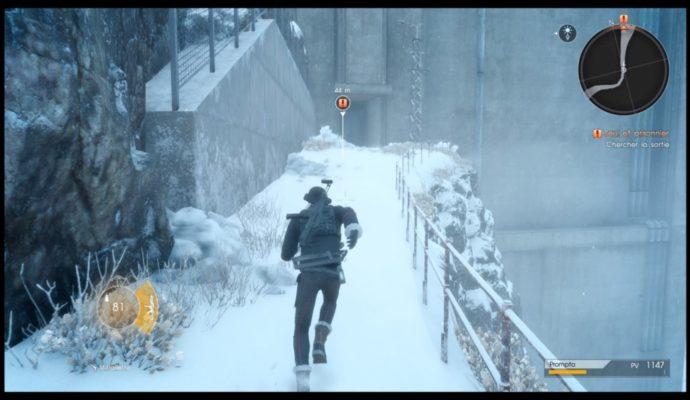 Final Fantasy XV : Épisode Prompto - Prompto cours dans la neige