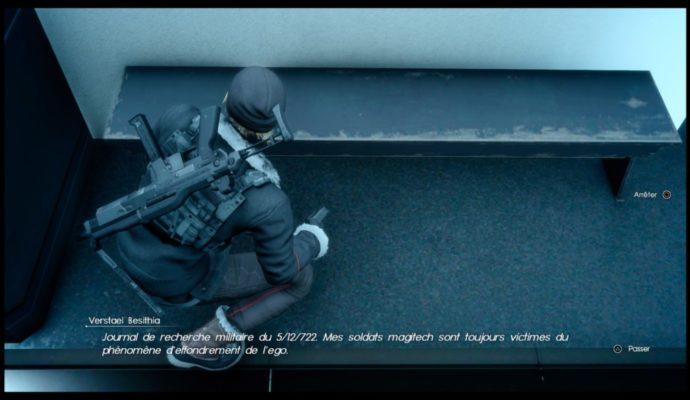 Final Fantasy XV : Épisode Prompto - Message vocal