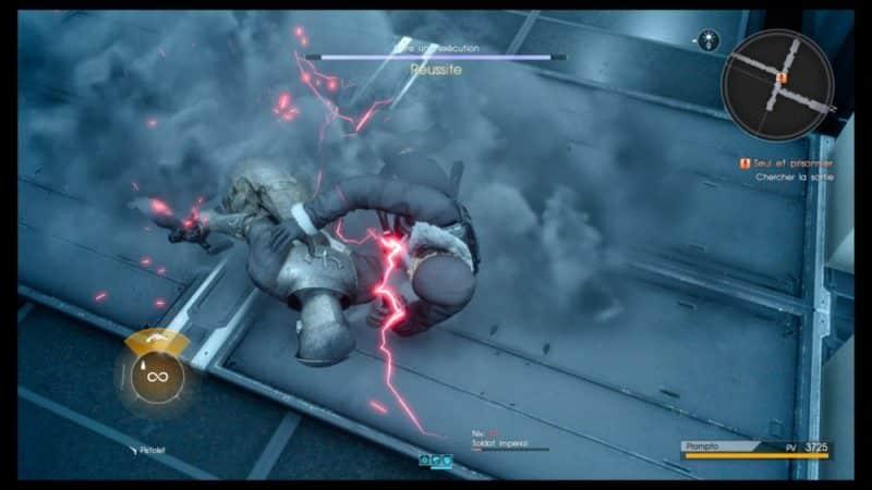 Final Fantasy XV Épisode Prompto - Attaque surprise Prompto