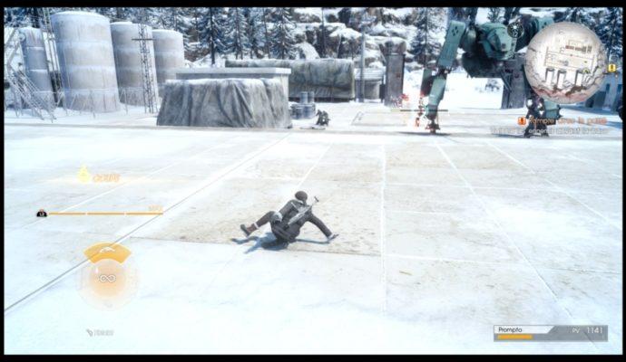 Test Final Fantasy XV : Épisode Prompto - Prompto les fesses par terre