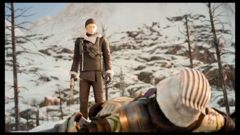 Final Fantasy XV : Épisode Prompto - Prompto face à une machine