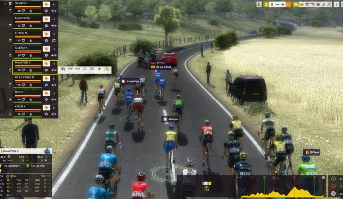 Pro Cycling Manager 2017 en course