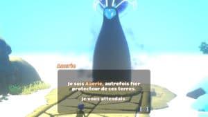 Yonder: The Cloud Catcher Chronicles esprit protecteur