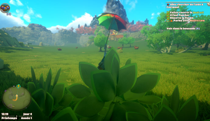 Yonder: The Cloud Catcher Chronicles paysage