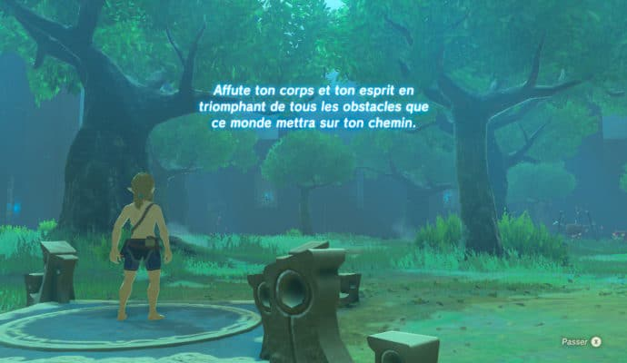 The Legend of Zelda: Breath of the Wild - épreuves légendaires