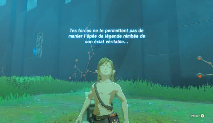 The Legend of Zelda: Breath of the Wild - épreuves légendaires