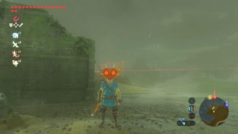 The Legend of Zelda: Breath of the Wild - Masque de Majora
