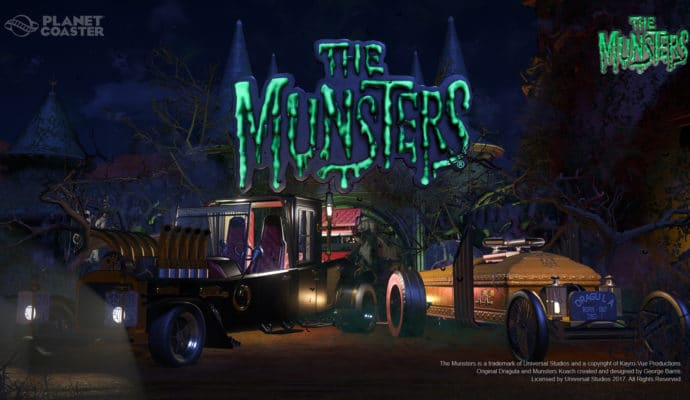 Planet Coaster The Munster