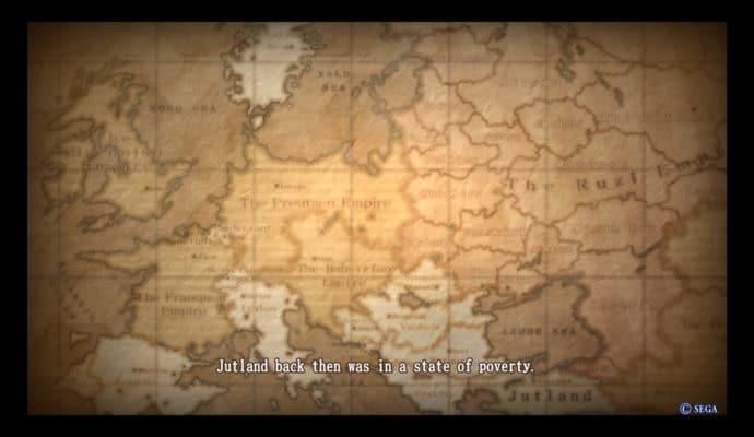 Valkyria Revolution hmm. Ça ressemble quand même beaucoup à l'Europe votre truc