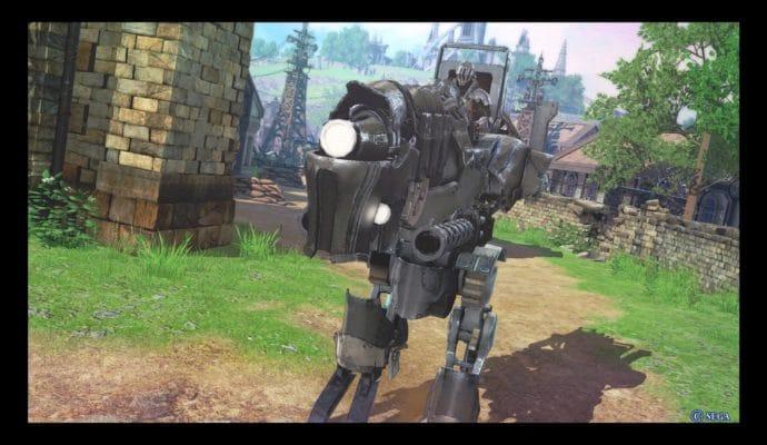 Valkyria Revolution Oh un robot. Cool.