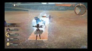 Valkyria Revolution Ophelia combat