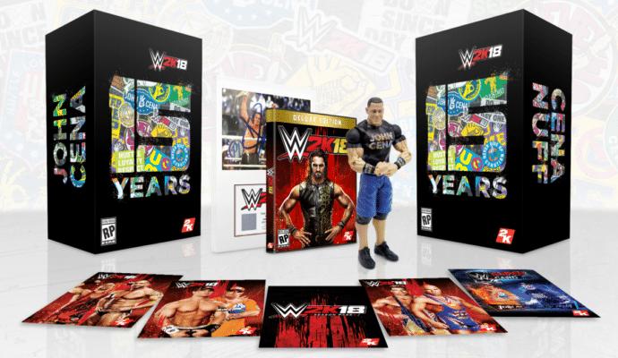 WWE 2K18 Collector Cena