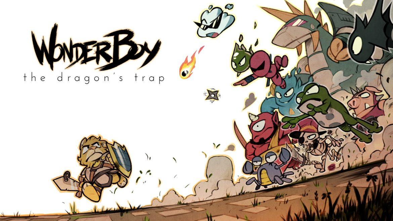 Wonder Boy: The Dragon's Trap logo