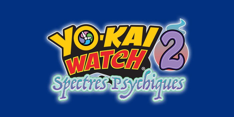 Yo-Kai Watch 2 : Spectres Psychiques logo