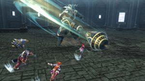 Ys VIII: Lacrimosa of Dana combat