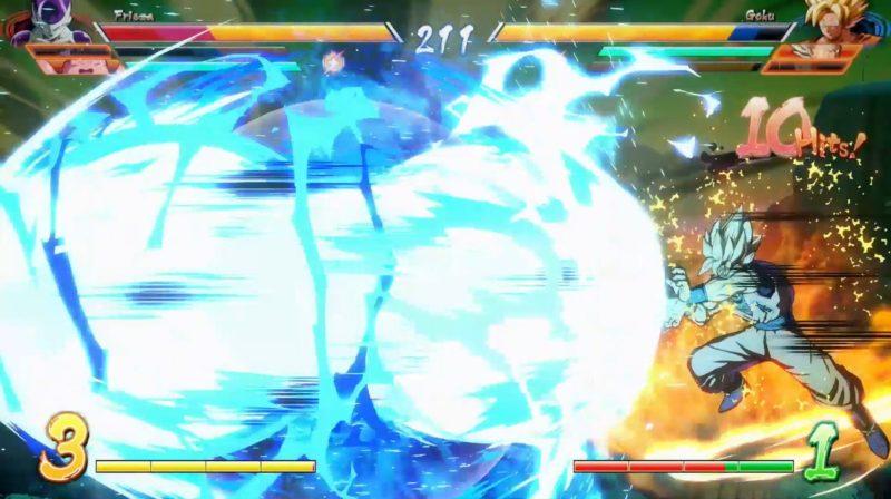 Dragon Ball FighterZ combat