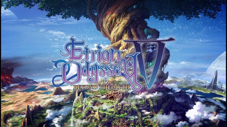 Etrian Odyssey V: Beyond The Myth title card