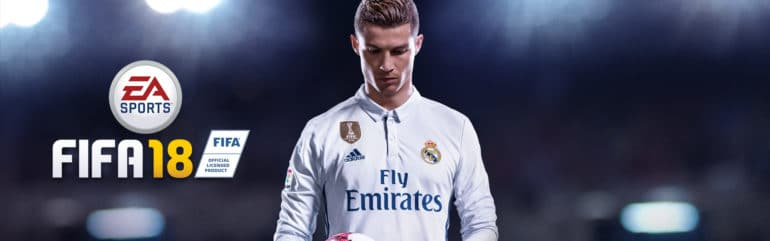 FIFA 18 titre Ronaldo