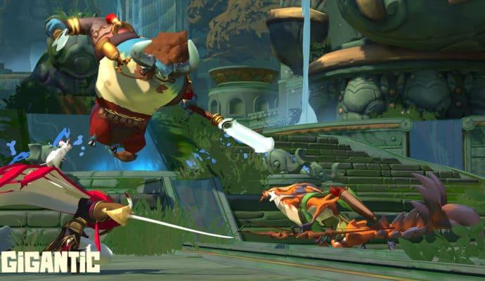 Gigantic combat