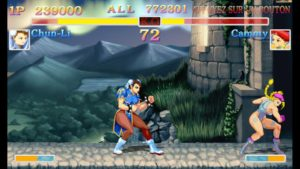 Le mode remastérisé de Ultra Street Fighter II: The Final Challengers