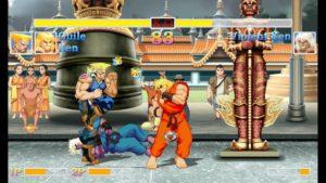 Le deux contre l'ordinateur dans Ultra Street Fighter II: The Final Challengers