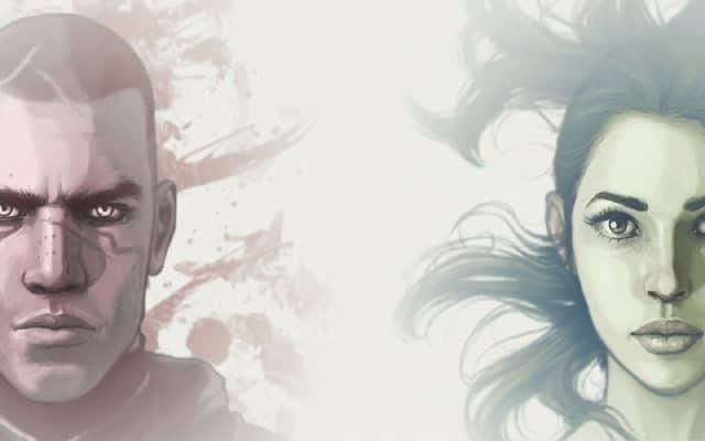 Kian Alvane et Zoë Castillo, les protagonistes de Dreamfall Chapters