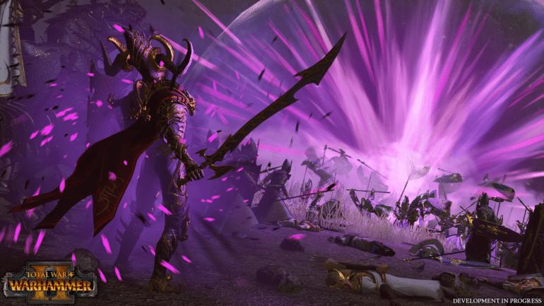 Total War: Warhammer II Elfes noirs magie
