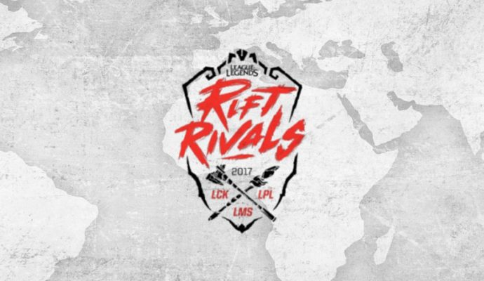 Rift Rivals League of Legends LCK, LPL, LMS