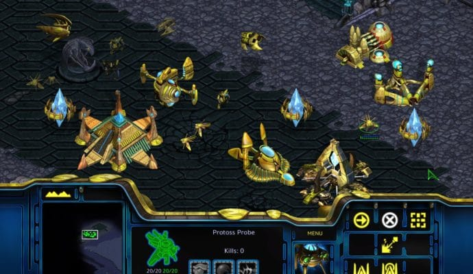 StarCraft Remastered Protoss