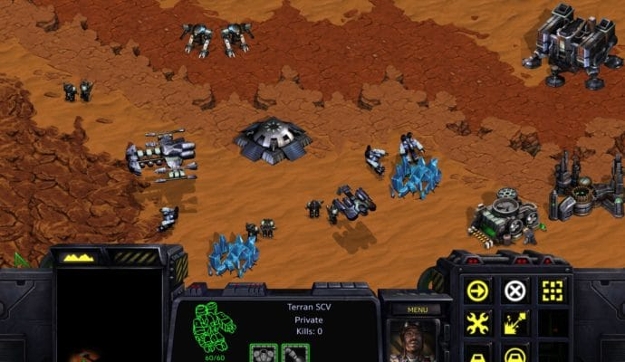 StarCraft Remastered terrans