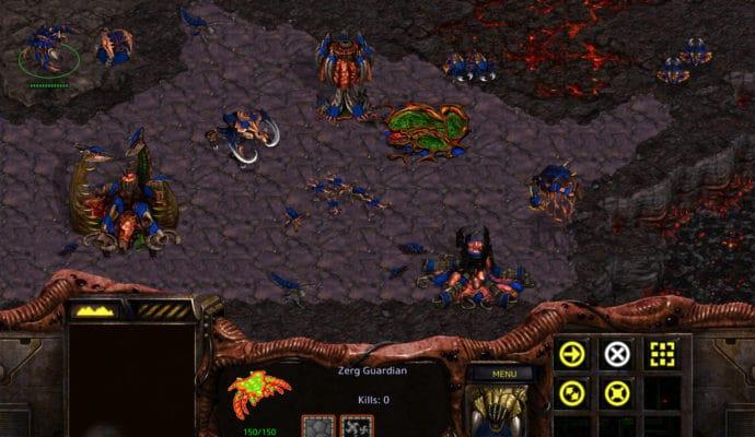 StarCraft Remastered zergs