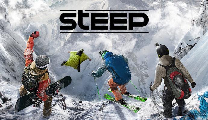 jeux de sport Steep