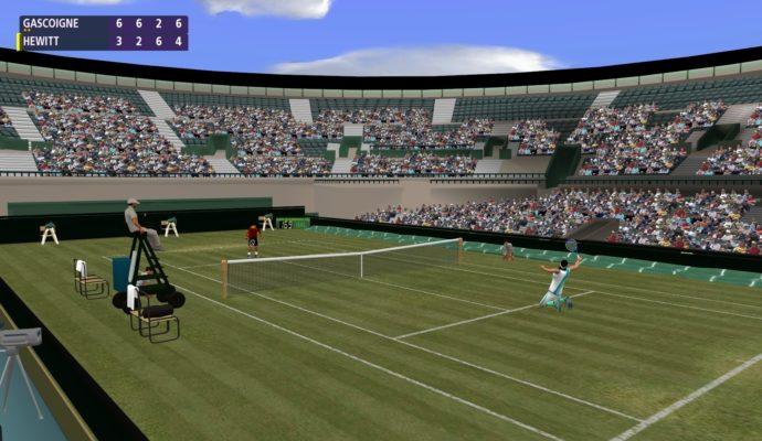 jeux de sport Full Ace Tennis