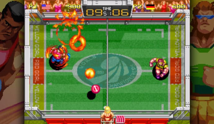 windjammers gameplay