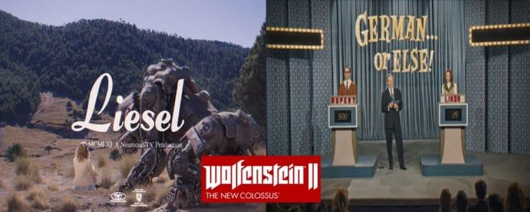 Des images du Germericana, une grande campagne de propagande faisant la promotion de Wolfenstein II: The New Colossus.