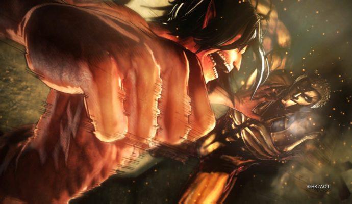 Attack on Titan 2 bagarre