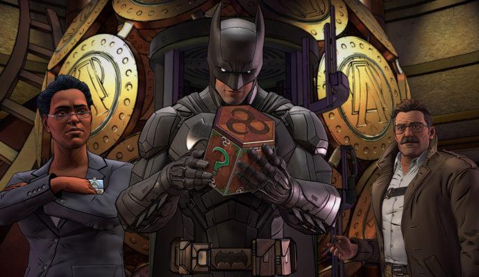 Batman: The Enemy Within Batman, Commissaire Gordon et Amanda Waller