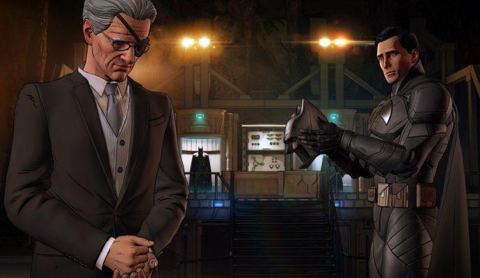 Batman: The Enemy Within Alfred se prend pour un pirate