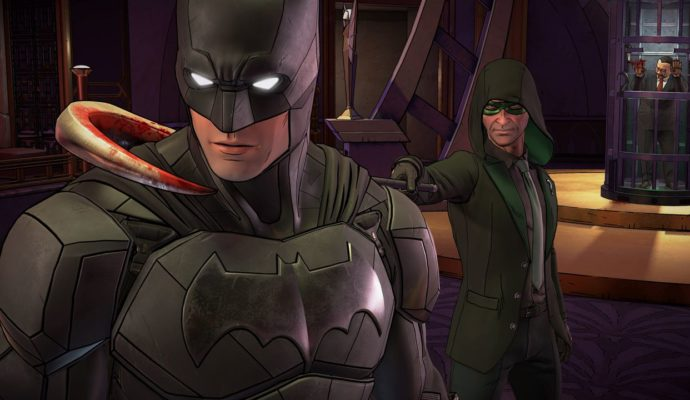 Batman: The Enemy Within Batounet et Nigma