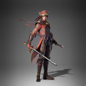 Dynasty Warriors 9 Lu xun costume