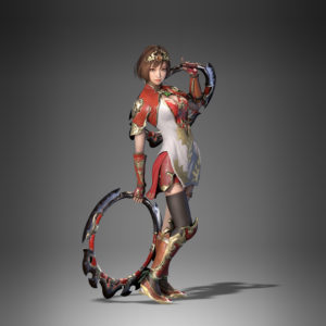 Dynasty Warriors 9 Sun Shangxiang costume