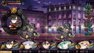 Demon Gaze II combat