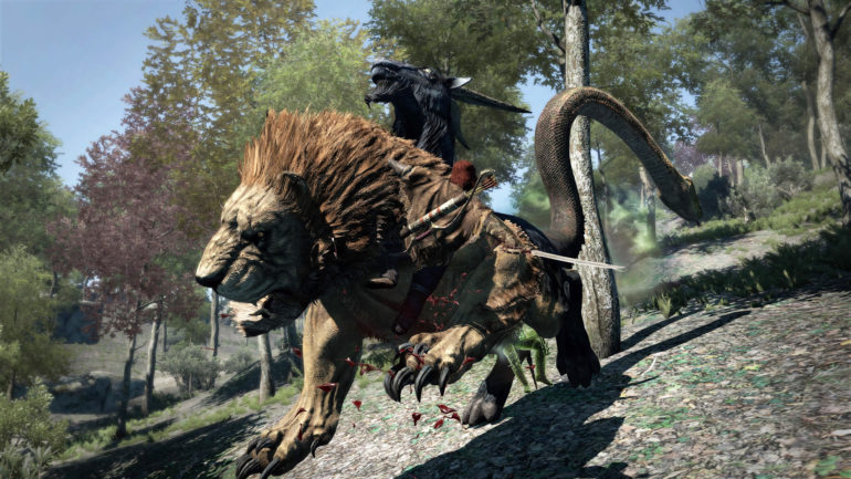 Dragon's Dogma: Dark Arisen Chevaucher une chimère
