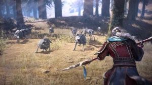 Dynasty Warriors 9 combat loup
