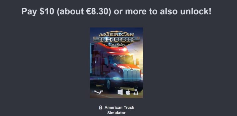 Humble Jumbo Bundle 9 palier 3 American Truck Simulator