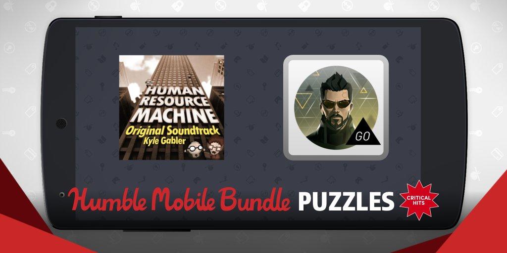 Humble Mobile Bundle: Puzzles titre